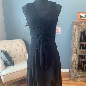 Taylor Crochet Cascade front Dress